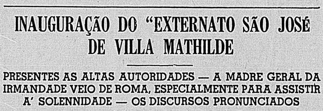 Extraído do jornal Correio Paulistano de 06 de Junho de 1939