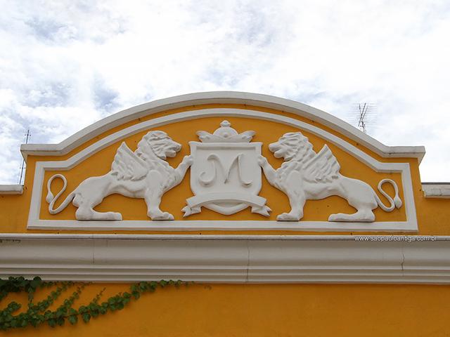 Brasão da família Miguel, desenvolvido exclusivamente para a casa