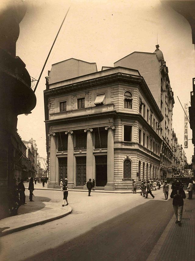 Largo do Café, no início do século 20.