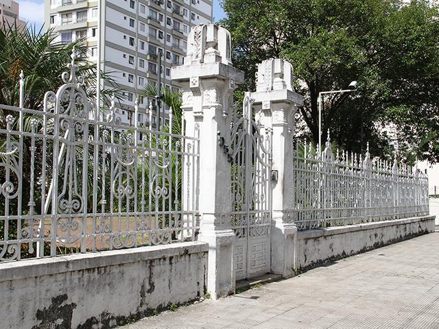 Muro, gradil e portão (clique na foto para ampliar)