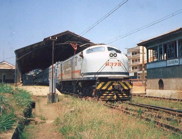A estação nos anos 1990 (foto de Vanderlei Zago)