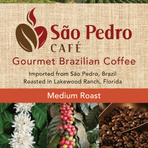 Sao Pedro Medium Roast Ground Coffee