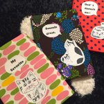 猫のブックカバーと中目黒にお店があるワケ(北海道/札幌  comodoさんのイベント用新商品)