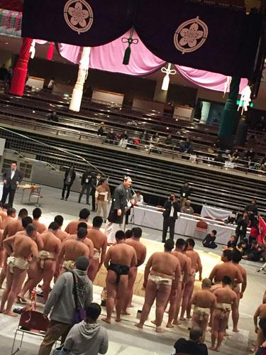 白鵬杯 両国国技館 相撲