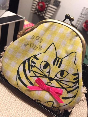 中目黒 猫 水玉 バッグ 雑貨 東京 中目黒 雑貨店 雑貨屋 花柄 ハンドバッグ