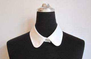 1万円のセミオーダーシャツの襟