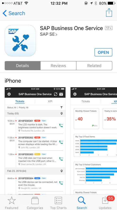 small resolution of sap business one new service app released 1