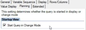 Create input ready query