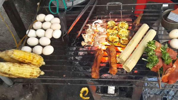 Trưng nướng Cơm Lam sapa