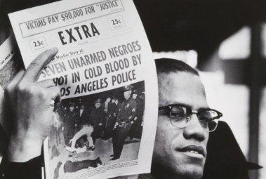 police brutality Malcolm photo