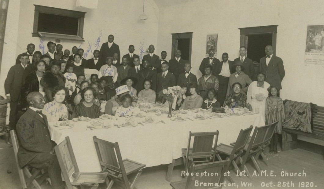 An image of the 1st AME Church in Bremerton, WN, October 25th 1920