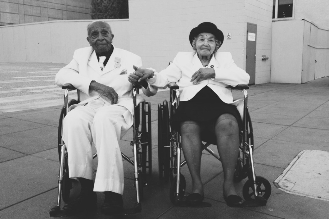 My paternal grandfather, Felix Wright and my paternal grandmother, Hazel Wright in San Francisco, CA, 2014 (c) wright|rasheed archive