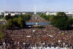 (1995 Million Man March in Washington, DC | Photo Credit- MMM)