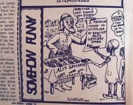 """Cartoon"" Our Islam Vol. 7 No. 1 Nov-Dec 1980 (African Islamic Mission Newspaper)"
