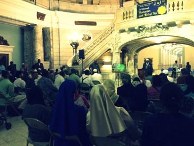 """""""Mayor Ras Baraka's Iftar at Newark City Hall 2015"""" (Photo: Donna Auston)"""