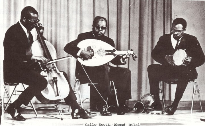 Bilal Abdurahman and Ahmed Abdul Malik playing