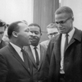 """Myth 4: Malcolm X was a civil rights leader. Though his public career was contemporaneous with the civil rights movement, Malcolm X operated separate and apart from the established civil rights leadership and organizations. As a minister of the Nation of Islam and thereafter, he rejected liberal integration as a goal and nonviolent civil disobedience as a tactic; and his spiritual commitment to Islam placed him outside the largely church-led and –based civil rights movement in the South, though he attracted the attention of younger activists like those in the Student Nonviolent Coordinating Committee (SNCC) and the Congress of Racial Equality (CORE). His strongest critique of the civil rights movement, however, was its framing: """"As long as you fight it on the level of civil rights, you're under Uncle Sam's jurisdiction."""" Instead, he advocated the adoption of """"human rights"""" as the rallying cry, one that would put the movement in conversation with struggles for justice around the world, like the anti-apartheid movement in South Africa."""