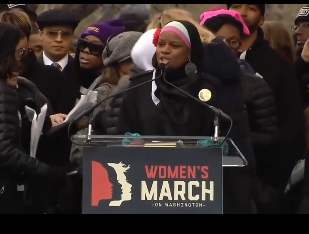 Ieasha at Women's March