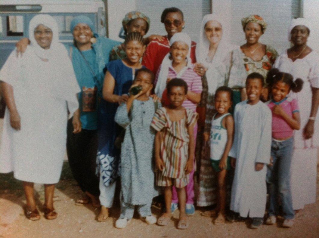Kareemah Abdul-Kareem,in Senegal, 1983.