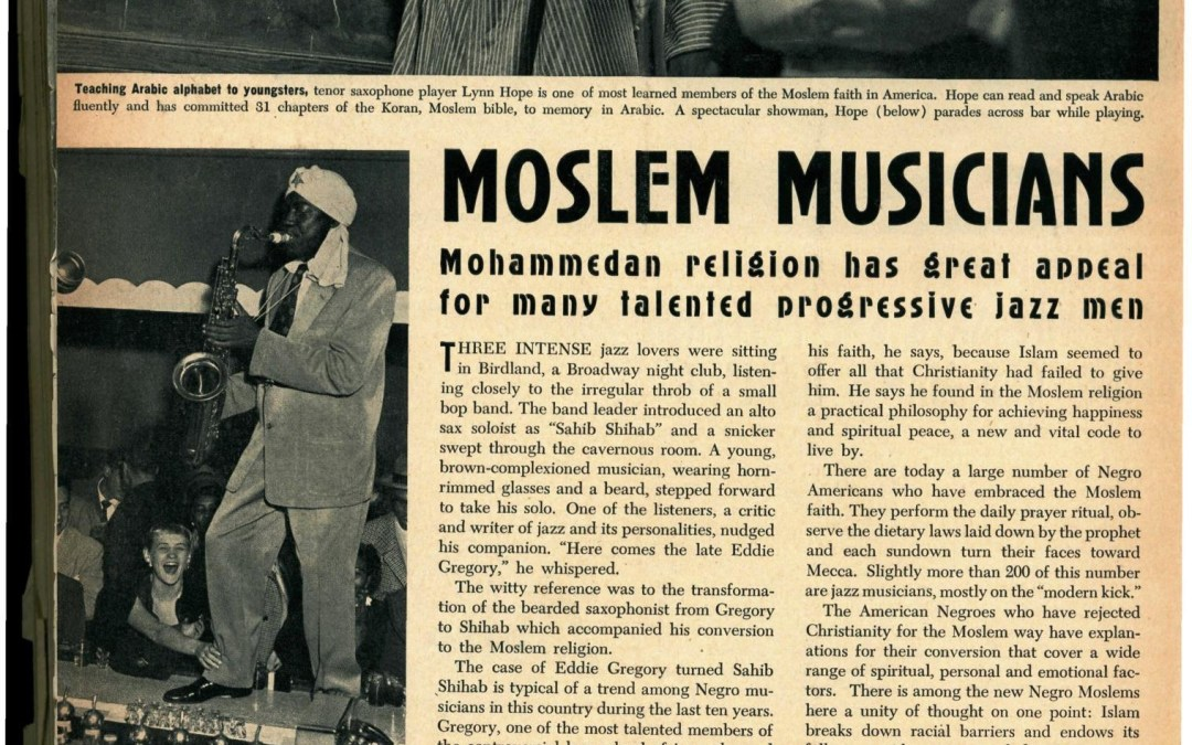 Muslims and Jazz in 1953