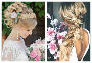 unique hair styles wedding braid