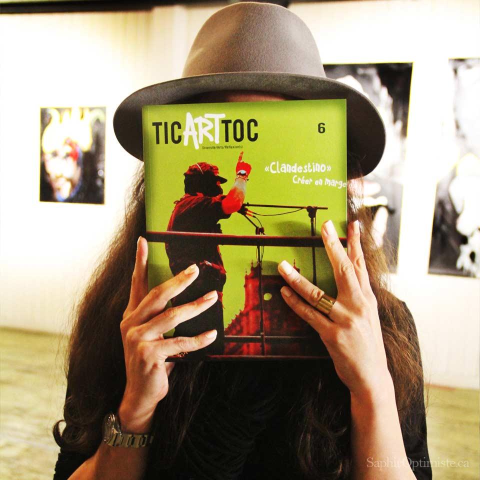Lancement du numéro 6 de Tic Art Toc