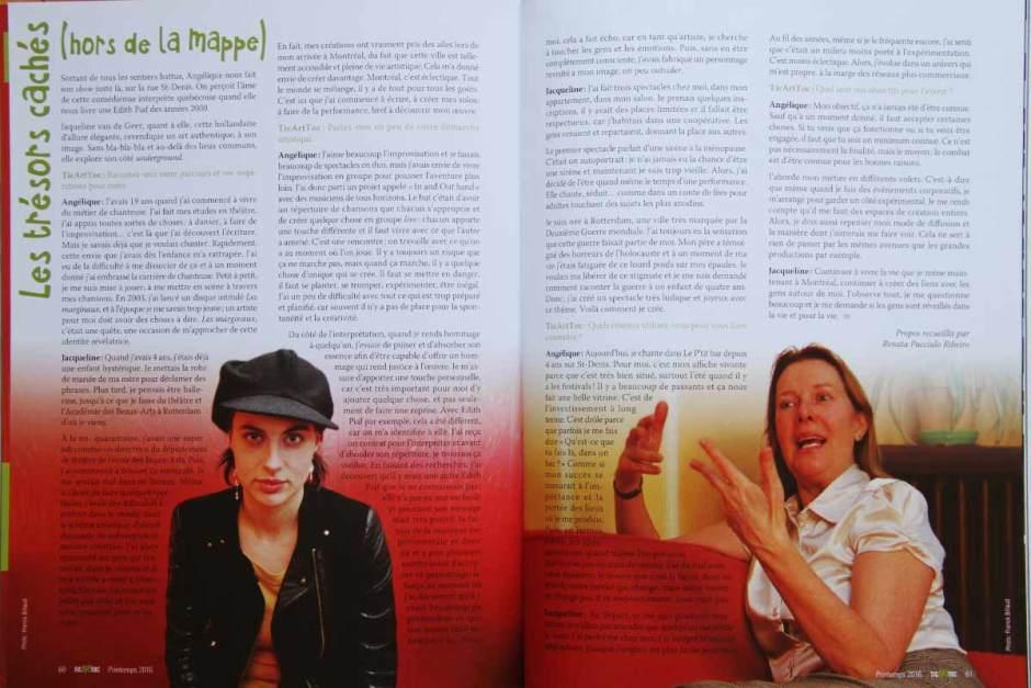 Jacqueline Van de Geer, Franck Billaud, Angélique Duruisseau, TicArToc, Photoptimiste, Saphir Optimiste