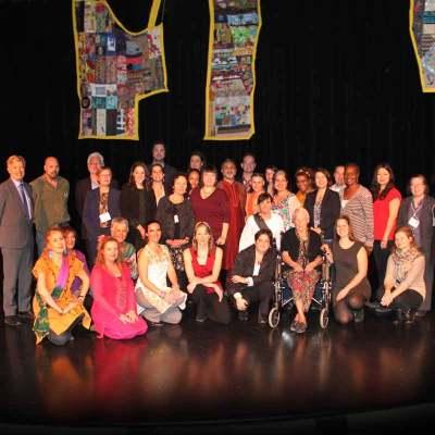 Équipe de la FGMTL et participants pour la journée de la philantropie