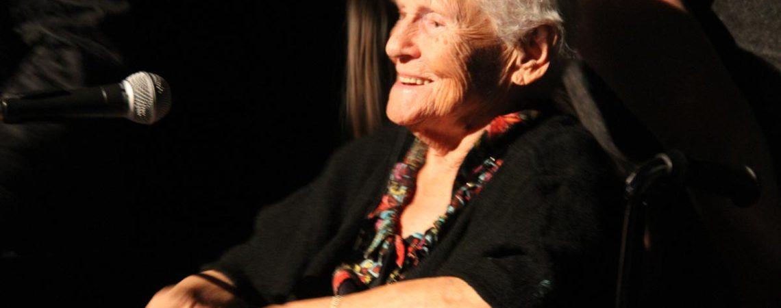 Une doyennede 97 ans était présente sur scene !