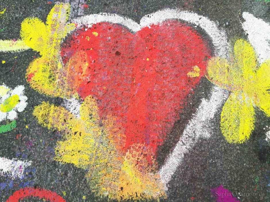 coeur oumpf Montréal Franck Billaud Saphir Optimiste joie rouge gaité espoir