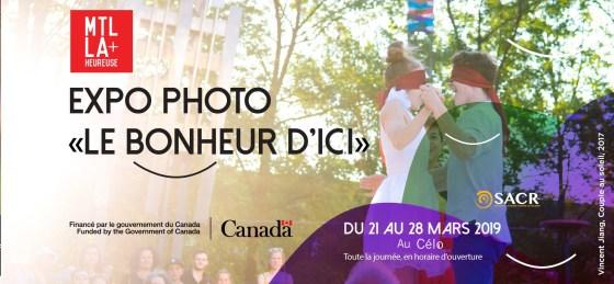 Expo photo le bonheur d'ici… à Montréal