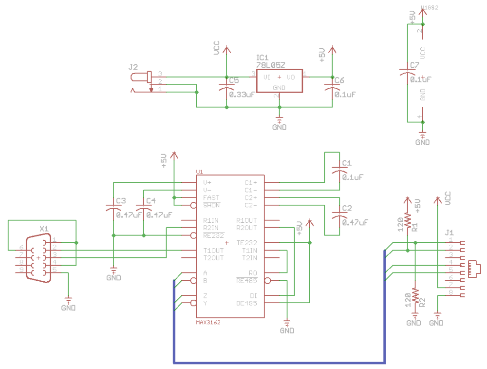 medium resolution of rs232 to rs485 converter rs232 rs485 schematic