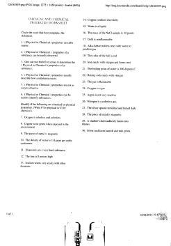 Chem-Phys Properties-Changes B 001
