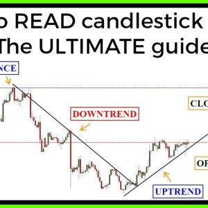 Candlestick charts: The ULTIMATE beginners guide to reading a candlestick chart