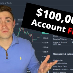 How I Doubled this $100,000 Trading Account: Large Account Flip!