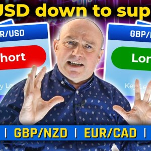 EUR/USD down to support?! Top 5 Forex Pairs & Market Events THIS WEEK!