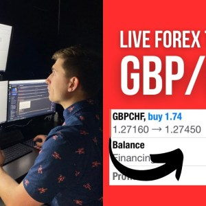 Live Forex Trading: How I Made $550 Trading GBP/CHF!
