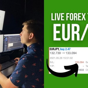 Live Forex Trading: Making +$801.06 Swing Trading EUR/JPY!