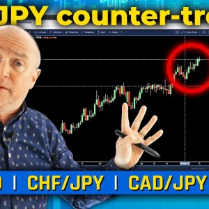 EUR/JPY counter-trend opportunity?! Discussing EUR/AUD, CAD/JPY & More! (Forex Forecast)