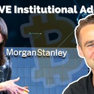 CRYPTO NEWS: Massive Institutional Adoption | Cathie Wood & Morgan Stanley