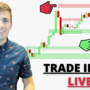 Live Forex Trading: New York Session | GBP Crashes! Looking for Setups...