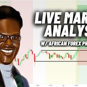 Live Forex Analysis with African Forex Professor | USDZAR, XAUUSD, GBPUSD and more!
