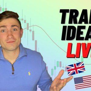 Live Forex Trading: New York Session | USD Trade Ideas for The Fed Meeting...