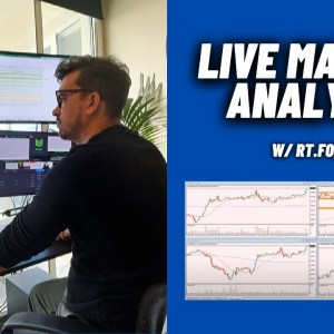 Live Forex Analysis with RT Forex! Trade Setups and Education