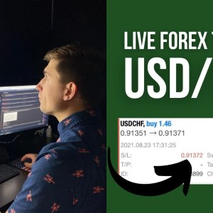 Real Forex Trade on USD/CHF: This Trade Hurt to Watch! (Here's Why...)
