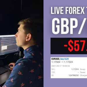 Live Forex Trading: -$57.60 on EUR/USD | Is the Market Teasing Me?