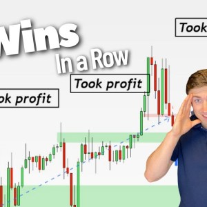 3 Wins in a Row! | My Forex Trading story with USD/CHF