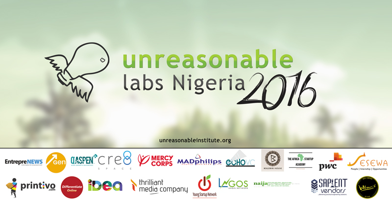 Unreasonable Labs Nigeria, 2016