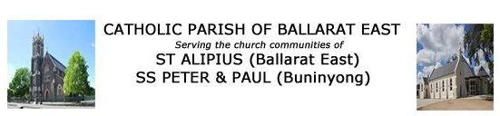 Home: St Alipius Parish Liturgy, Sacraments & Events