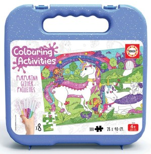 100 UNICORNIO COLOURING ACTIVITIES